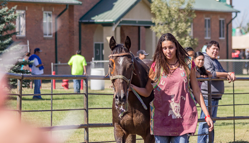 Gathering of Native Artisans at All Nations Indian Relay Championships