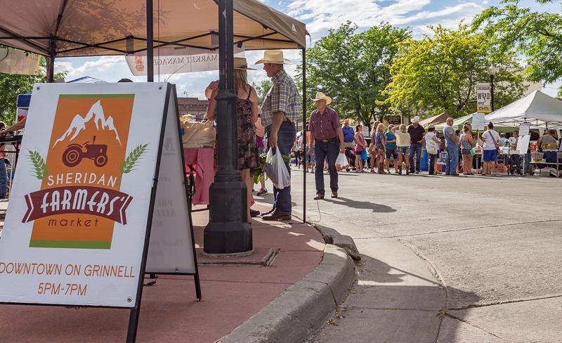 Take Advantage of Late Summer Nights and Shop Farm Fresh in Sheridan, Wyoming