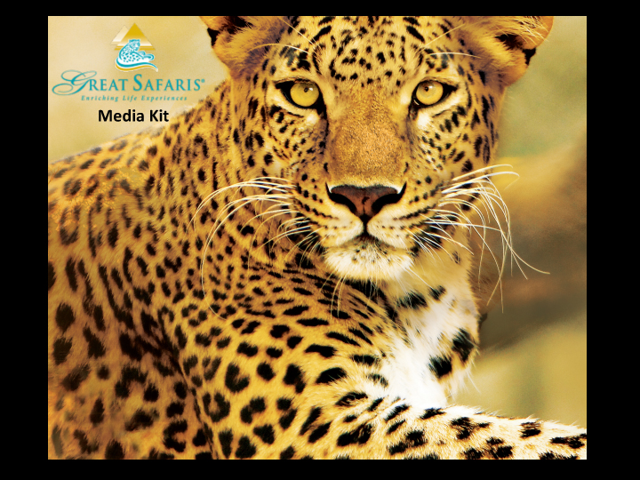 Great Safaris Media Kit | Adventure Media
