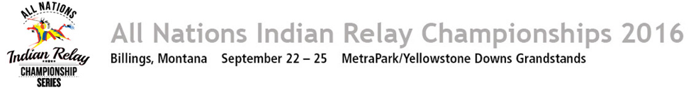 All Nations Indian Relay Championships press release