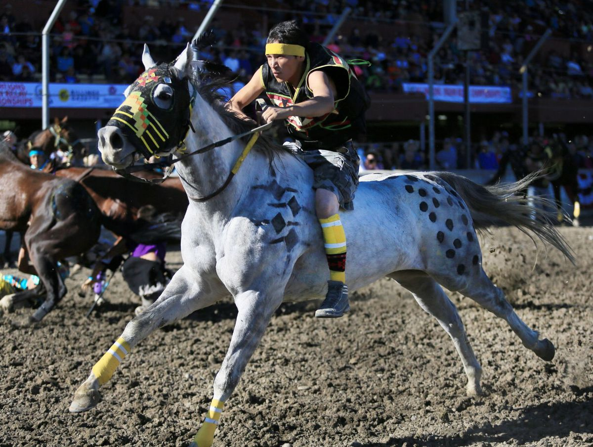 BILLINGS GAZETTE | All Nations Indian Relay finishes strong under Sunday's clear skies