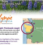 2017 Travel Planner for Olympic Peninsula Now Available