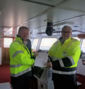 Captain of MV OCEAN DIAMOND Makes History